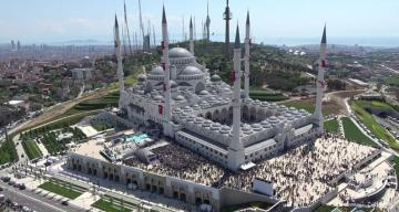 Erdogan inaugurates Turkey's biggest place of worship, Grand Camlıca Mosque in Istanbul