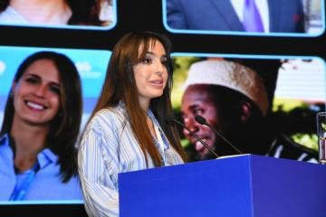 Поддержав молодежь, мы должны добиться более красивого мира - Лейла Алиева
