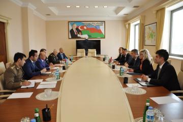 Кямаледдин Гейдаров встретился с министром внутренних дел Черногории