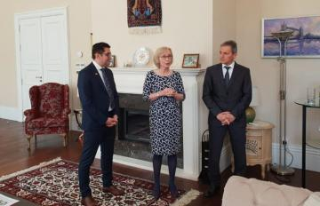 """Ambassador Carole Crofts: """"Access to information is vital for any society"""""""