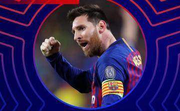 Lionel Messi Çempionlar Liqasında həftənin oyunçusu seçilib