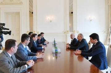 Президент Ильхам Алиев принял председателя Палаты депутатов Национального Конгресса Бразилии