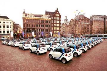 В Амстердаме запретят автомобили с бензиновыми и дизельными двигателями