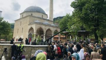 Bosnian mosque damaged during war reopens in move toward reconciliation