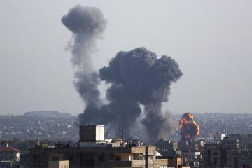 İsrailin Qəzzaya atdığı raket zərbələri nəticəsində 3 nəfər ölüb