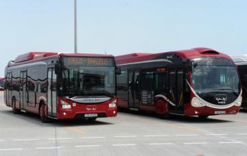 В связи с Бакинским марафоном изменены направления движения некоторых автобусов