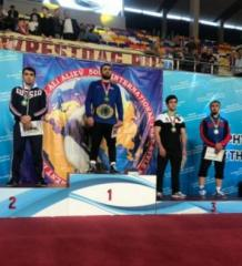 Azerbaijani freestyle wrestlers win three medals in Dagestan