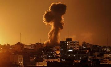 Gaza-Israel hostilities flare with rocket attacks, air strikes