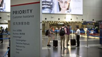 Десятки рейсов отменены в аэропорту Пекина из-за нелетной погоды