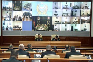 Основное внимание уделить поддержанию боеготовности на высоком уровне - министр обороны Азербайджана