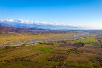 Qanıx çayı Gürcüstan ərazisində daşıb, magistral yol bağlanıb