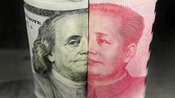 Китайские биржи рухнули на 5% после твитов Трампа