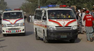 At least 8 dead as passenger van catches fire in Pakistan