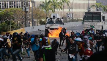 Lavrov amerikalı həmkarı ilə Venesuela böhranını müzakirə edəcək