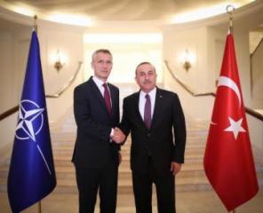 Turkish FM meets NATO Secretary General