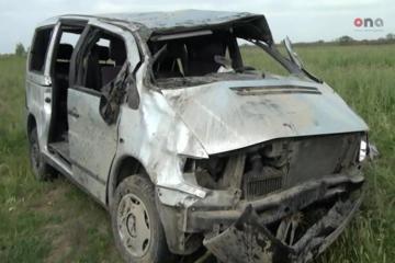 В Сальяне перевернулся микроавтобус со спортсменами, 1 человек погиб, 8 пострадали - [color=red]ОБНОВЛЕНО-1-ВИДЕО[/color]