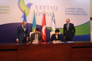 KOBİA ilə Qazaxıstanın Sahibkarlığın İnkişafı Fondu arasında memorandum imzalanıb