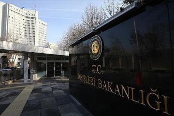 Türkiyə XİN: Erməni terrorçunun İrəvanda qəhrəman kimi dəfn olunmasını şiddətlə qınayırıq