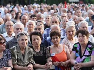 Численность населения Армении сократилась
