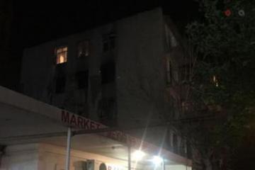 В Бинагадах произошел пожар в общежитии  - [color=red]ВИДЕО[/color]