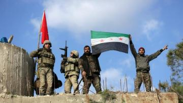 Intense fighting in northwest Syria as army tries to advance