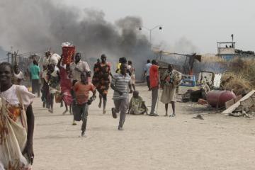 Fire razes four villages in South Sudan, kills 33