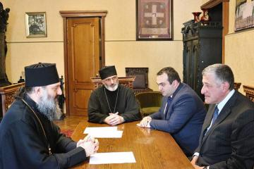 Azerbaijani ambassador to Georgia held a meeting with Patriarchate regarding David Gareja issue