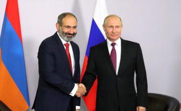 Путин совершит визит в Армению