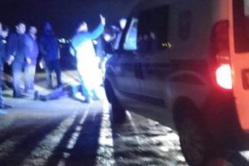 Şəmkirdə piyadanı vuran sürücü hadisə yerindən qaçıb