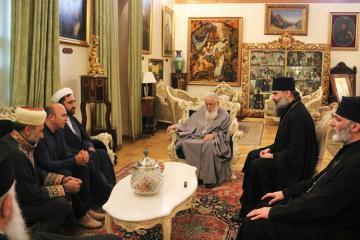 Грузинский патриарх: Надеюсь, что вопрос о храме «Давид Гареджи» будет решен мирным путем