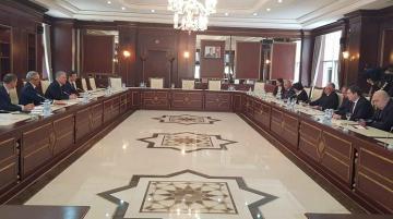 Gürcüstanlı deputatlar Bakıda bir sıra görüşlər keçiriblər