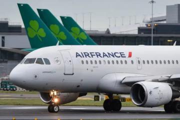 Самолет Air France совершил вынужденную посадку в Иране