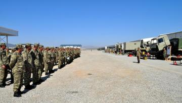 Azerbaijan transfers weapons, military equipment to summer operation mode
