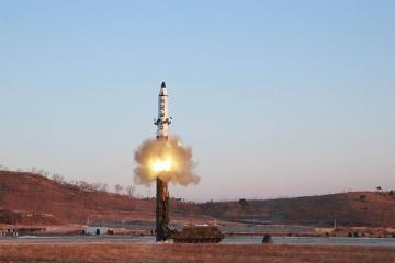 Южная Корея: КНДР могла осуществить запуск двух ракет малой дальности