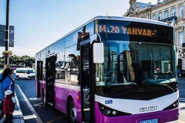 Sabah 11 sərnişin avtobusunun hərəkət trayektoriyası dəyişdiriləcək