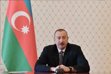 Президент Азербайджана поделился в соцсети роликом «10 Мая»