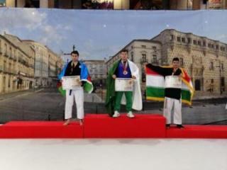 Polis rəisinin oğlu dünya çempionatında medal qazanıb