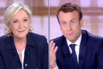 Marin Le Pen prezident Makrona ultimatum verib