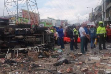 Kolumbiyada baş vermiş partlayışda azı 4 nəfər ölüb, 26 nəfər yaralanıb
