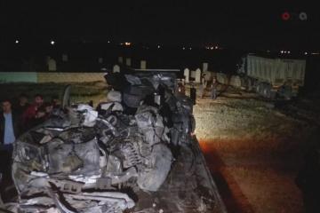 Установлены личности погибших в ДТП в Сумгайыте