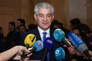 """Ali Ahmadov: """"There are a few forces trying to cast shadow on development of our country by lies and slanders"""""""