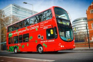 В Лондоне впервые появятся двухэтажные автобусы, работающие на водороде