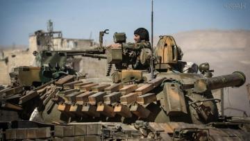 Армия Сирии подошла к административной границе провинции Идлиб
