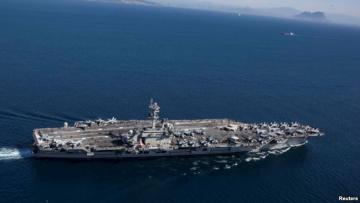 """ABŞ admiralı """"USS Abraham Linkoln"""" gəmisinin Hörmüz boğazına göndərilə biləcəyini bəyan edib"""