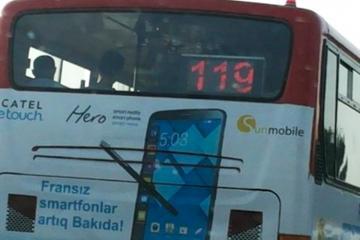 Xırdalan-Bakı arasında sərnişinləri döşəməsi qopmuş avtobus daşıyır  - [color=red]VİDEO[/color]