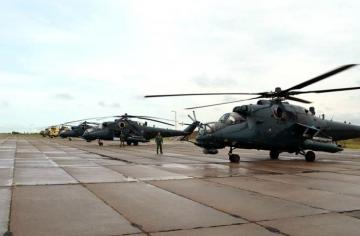 """Azerbaijan's military helicopters left for Turkey to participate in the """"Anatolian Phoenix-2019"""" international exercises - [color=red]PHOTO[/color]"""
