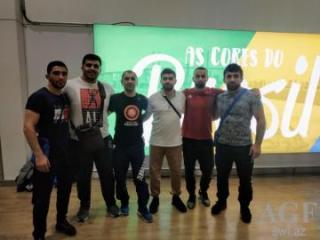 Azərbaycan güləşçiləri Dünya Seriyasında 3 medal qazanıblar