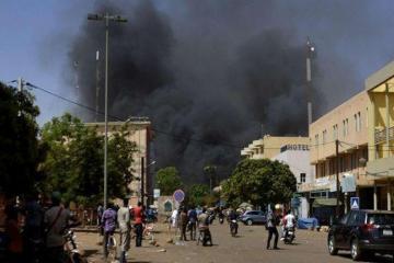 При нападении на католическую церковь в Буркина-Фасо погибли шесть человек
