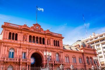 В Аргентине вооруженный мужчина пытался попасть в президентский дворец