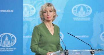 Maria Zakharova: The agenda for talks between Lavrov and Pompeo remains unchanged